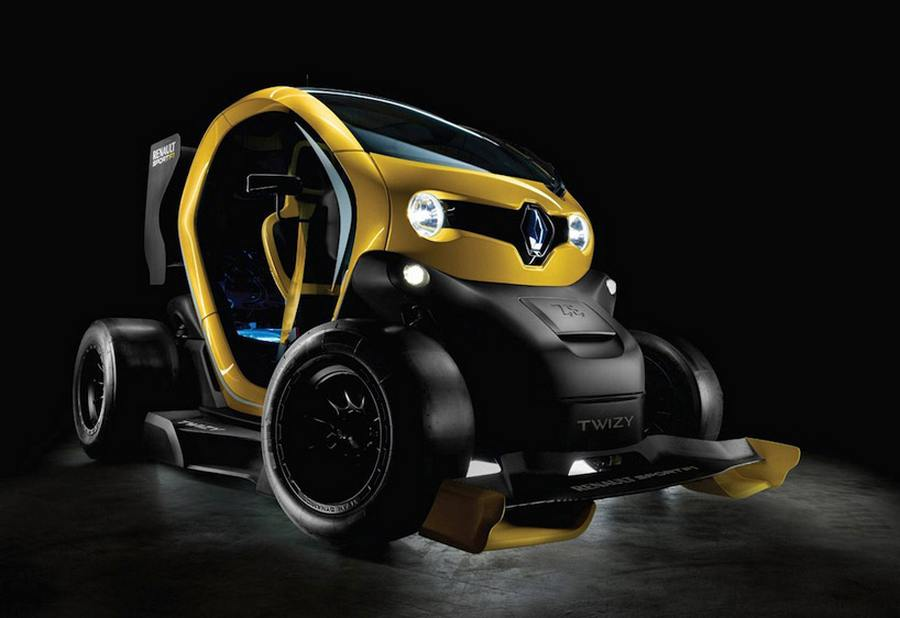 Renault Twizy sport F1 electric concept (7)