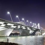 Sheikh Zayed Bridge by Zaha Hadid