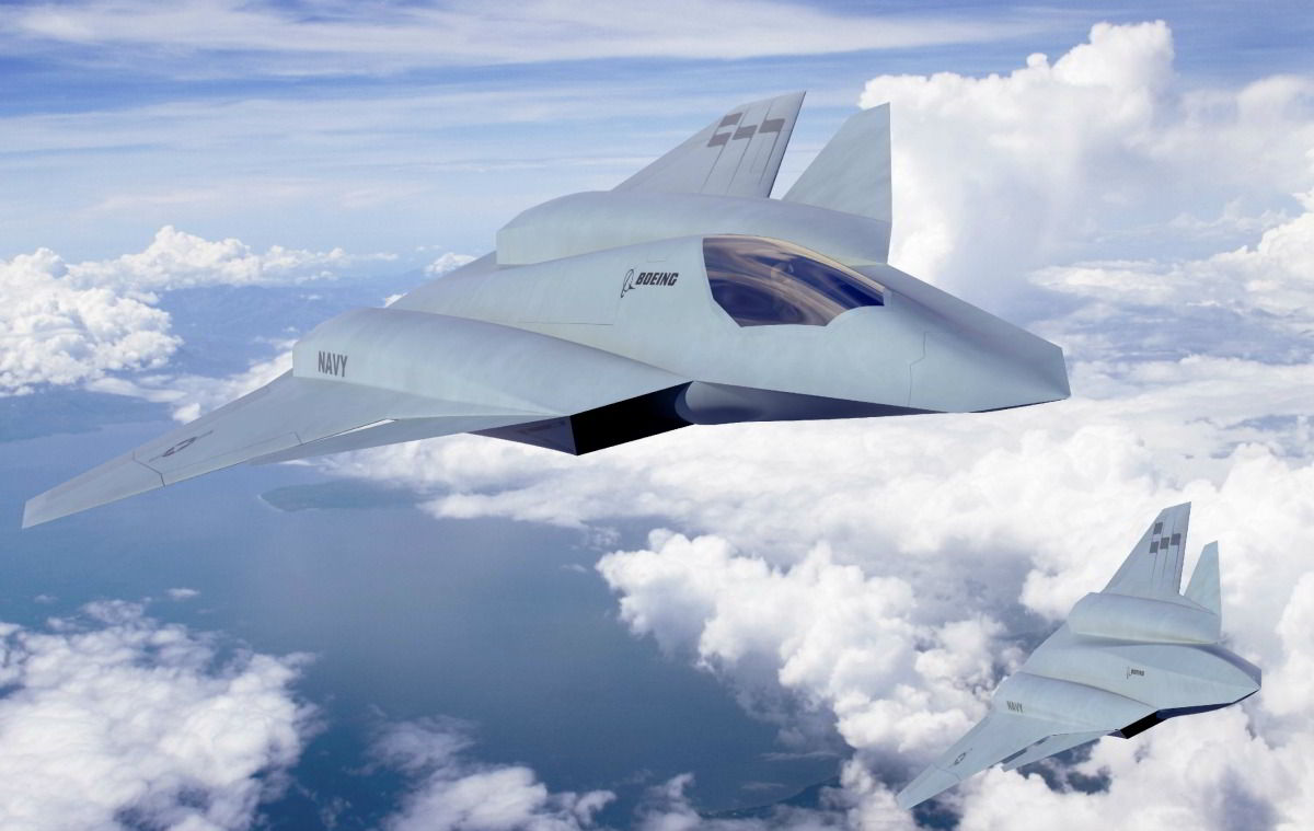 Boeing just unveiled an updated version of its F/A-XX sixth-generation ...