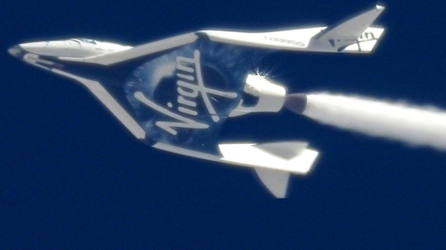 SpaceShipTwo Cold Flow procedure