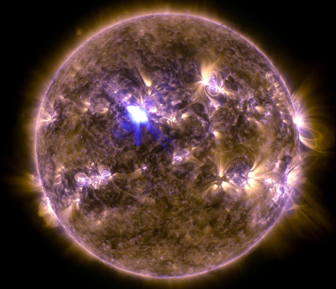Sun's Most Powerful Solar Flare of the Year (1)