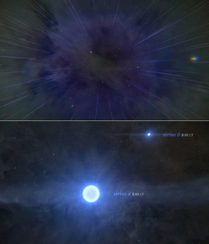 Visit nearby Stars