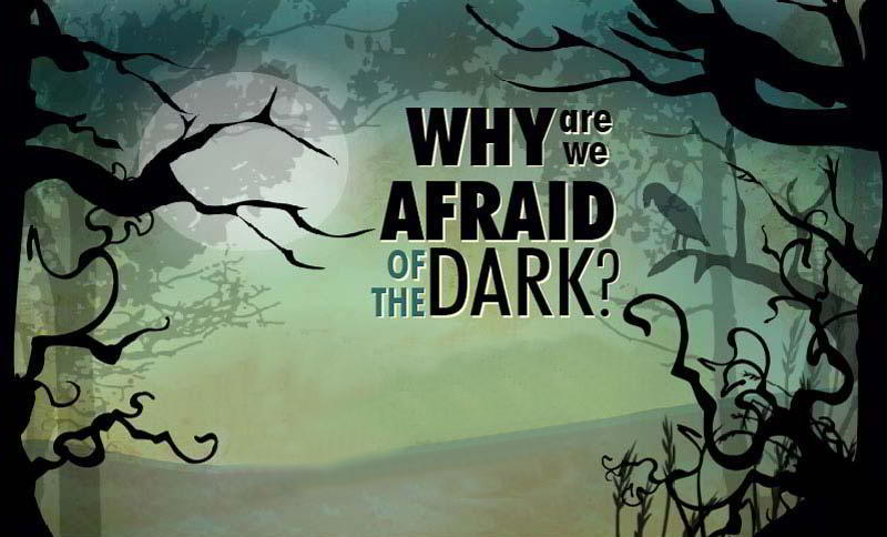 Why we are Afraid of the Dark- infographic