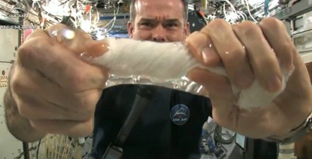 Wringing out Water on the ISS - for Science