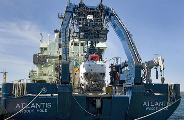 Alvin Submersible is upgraded