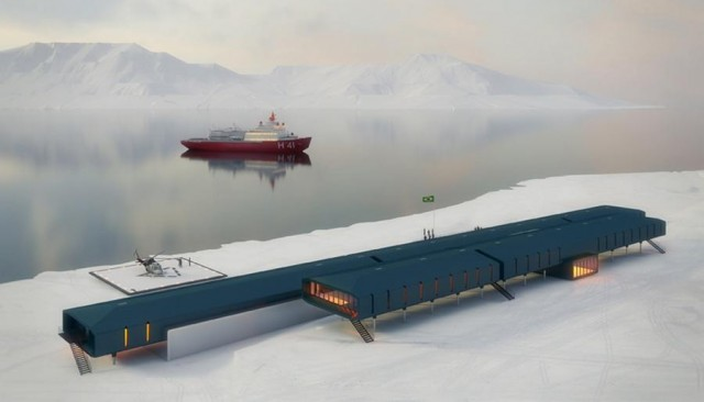 Comandante Ferraz Antarctic Research Station - winning proposal by Estudio 41 (7)