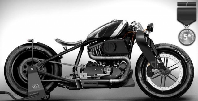 DP Custom Stealth Concept by Vincent, Graviere (dirtybrush), France