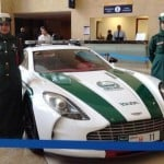 Dubai Police just added Aston Martin and SLS AMG to its...