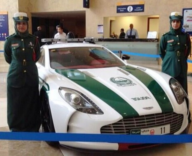 Dubai Police just added Aston Martin
