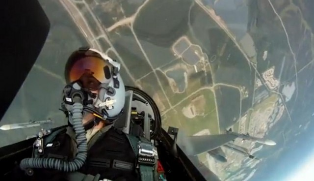 F-16 insane Flight from the Inside