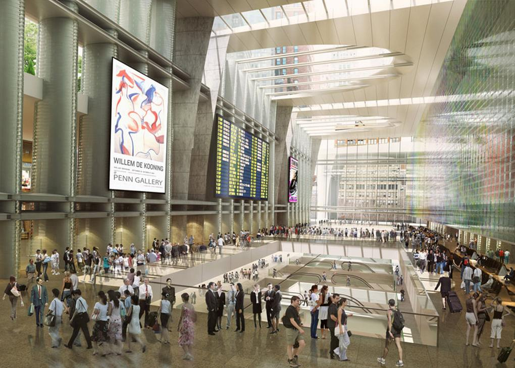 Wordlesstech Four Top Architects Re Envision Penn Station And Madison Square Garden