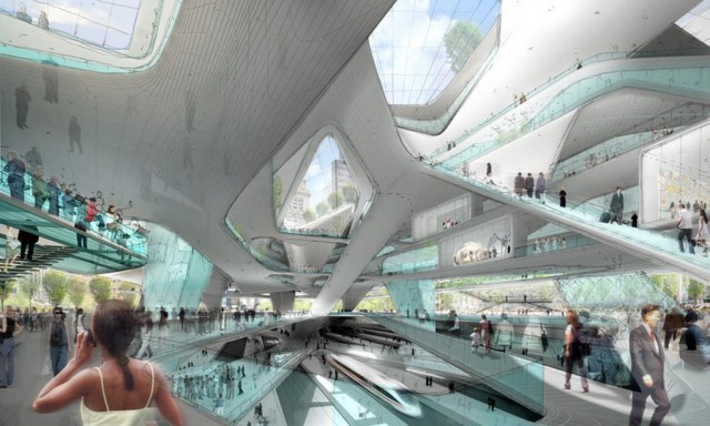 Diller Scofidio + Renfro proposal for Penn station and Madison Square Garden