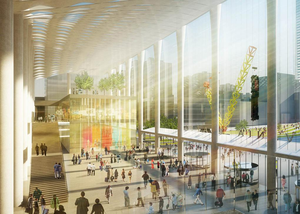 Four Top Architects Re Envision Penn Station And Madison Square Garden Wordlesstech
