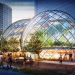 Glass Biospheres to Amazon Headquarters by NBBJ