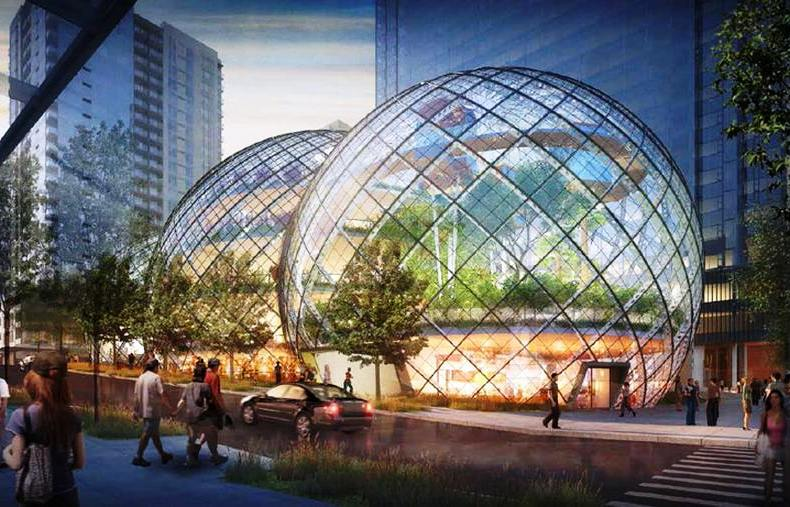 Glass Biospheres to Amazon Headquarters by NBBJ (7)