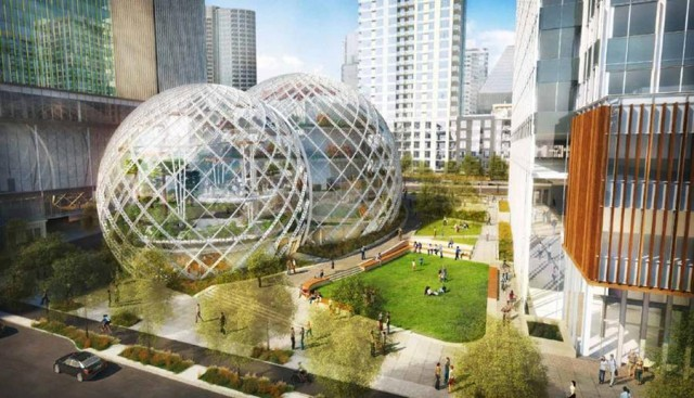 Glass Biospheres to Amazon Headquarters by NBBJ (5)