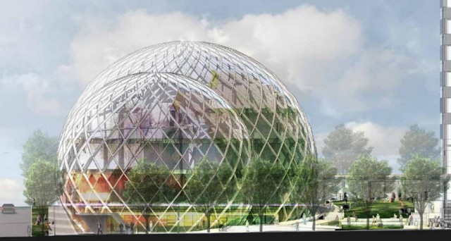 Glass Biospheres to Amazon Headquarters by NBBJ (3)