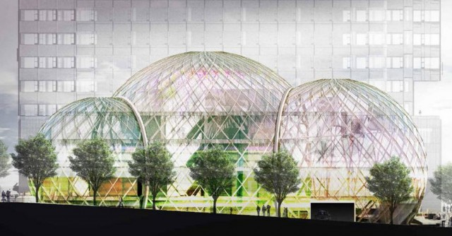 Glass Biospheres to Amazon Headquarters by NBBJ (2)