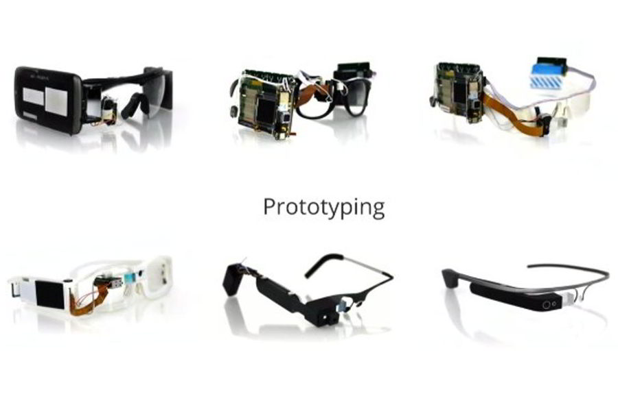 Google Glass prototypes