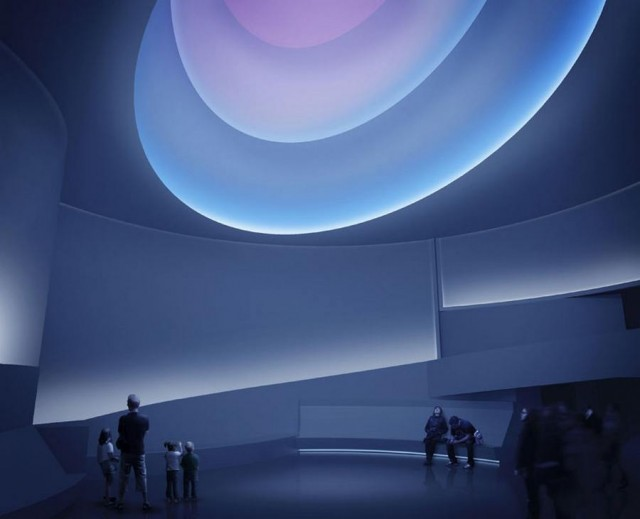 James Turrell in Guggenheim Museum (3)