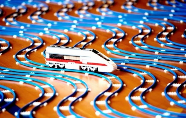 LEGO railway awarded Guinness World Record