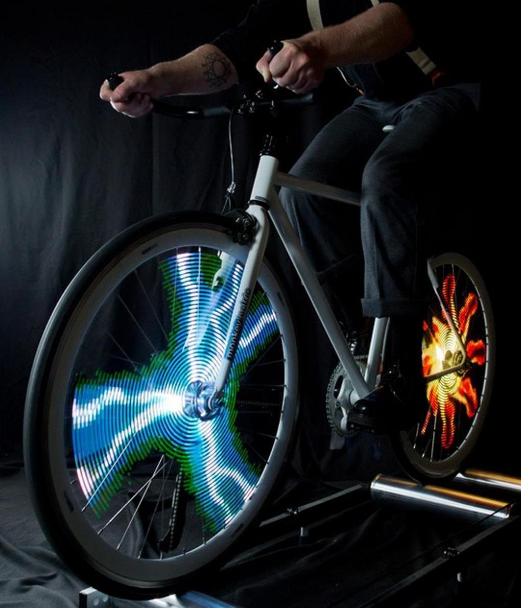 Monkey Light Pro - Bicycle Wheel Display System