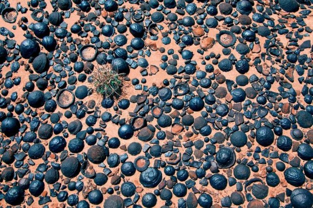 Moqui Marbles and Martian Blueberries