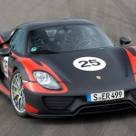 Porsche 918 Spyder in production form