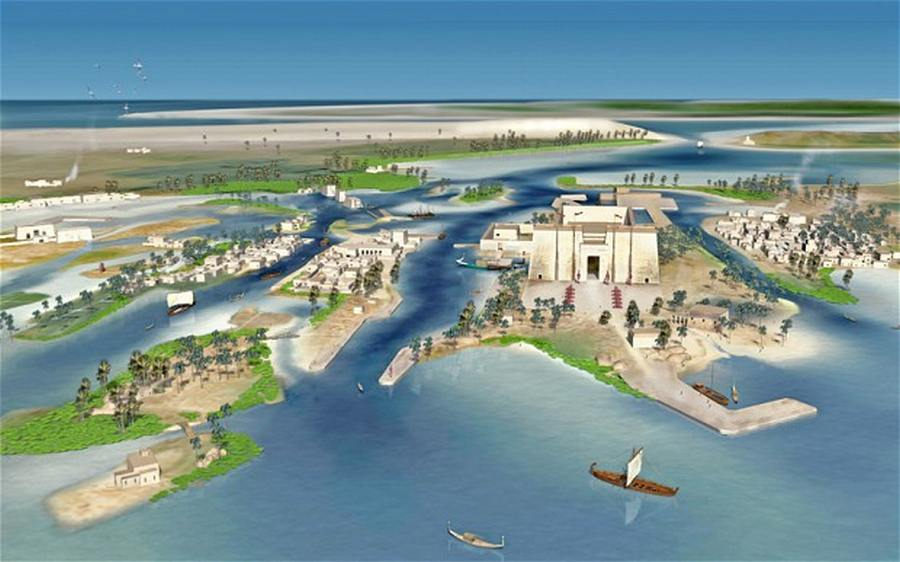 Scientists recreate Egyptian town Heracleion