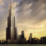 Sky City world's Tallest Building starts construction