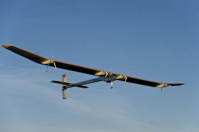 Solar Impulse launches Flight from San Francisco to New York