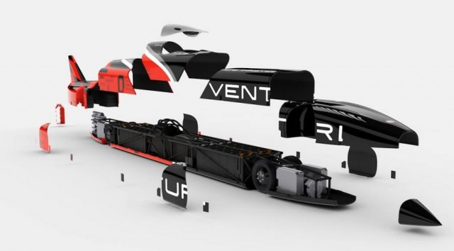 Venturi EV aims for world speed record (7)
