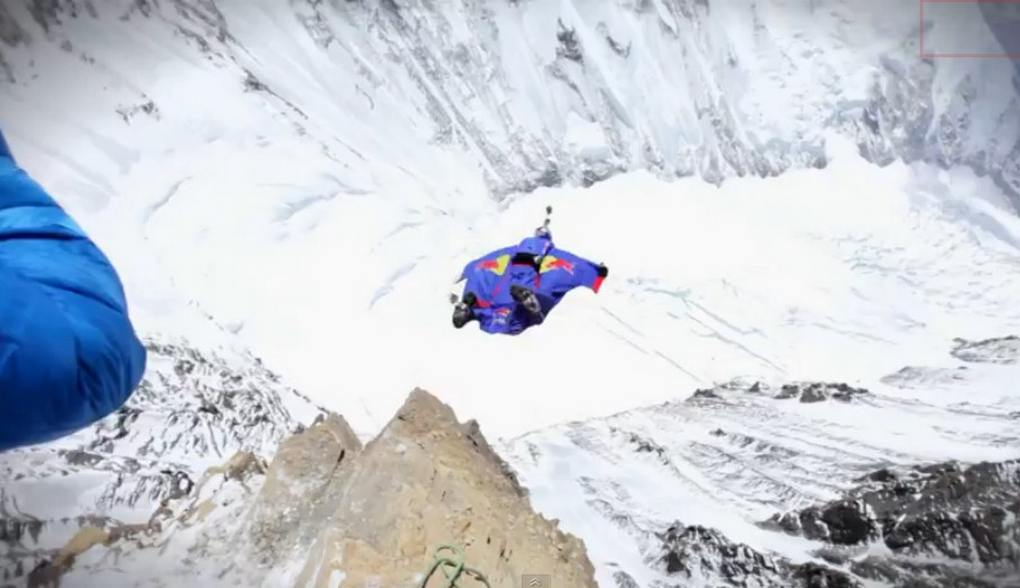World's Highest BASE Jump - Flying from Mt. Everest (5)