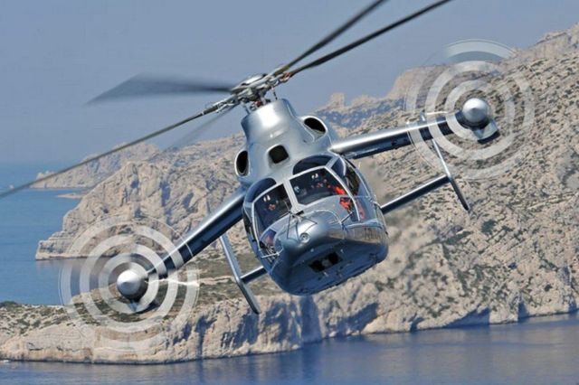 Eurocopter's X3 hybrid helicopter new speed record