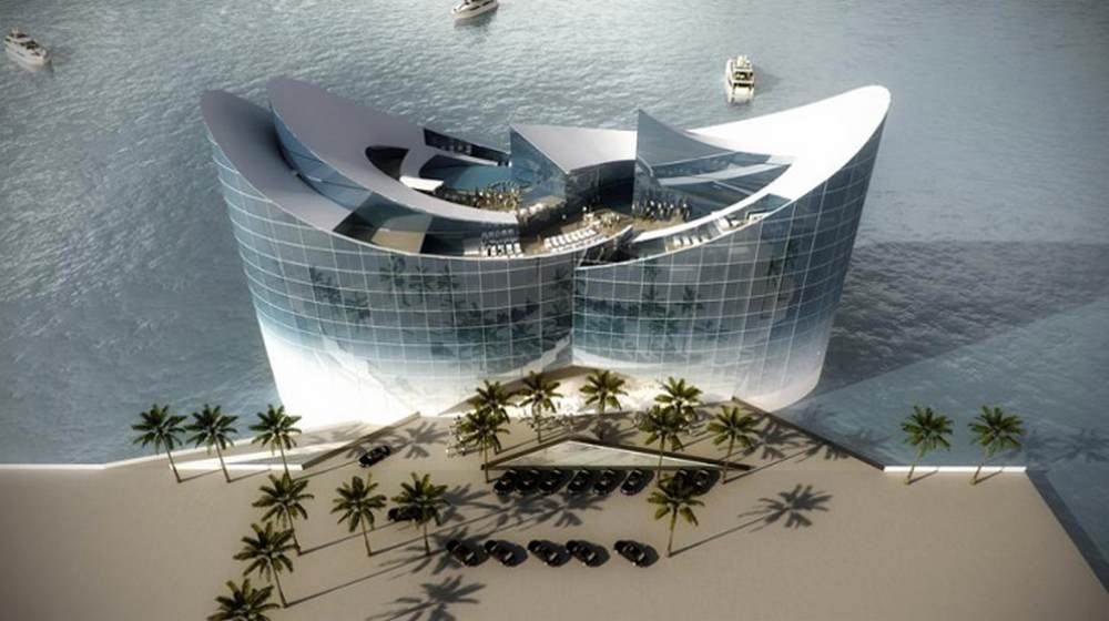 Floating hotels in qatar for the 2022 world cup wordlesstech for Hotel concepts