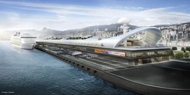 Hong Kong Airport opens as Cruise Terminal (4)