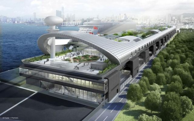 Hong Kong Airport opens as Cruise Terminal (3)