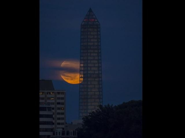 June Supermoon in Washington