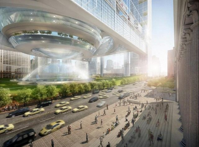 New Penn Station proposal by SOM