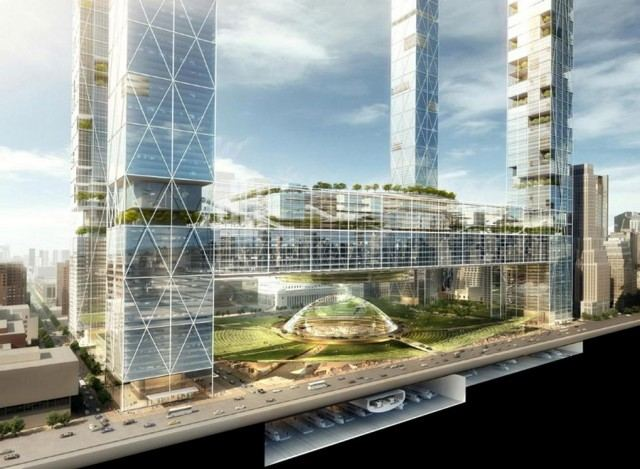 New Penn Station and the Next Madison Square Garden by SOM (5)