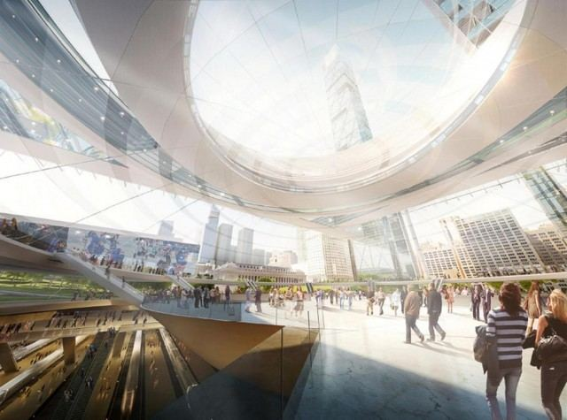 New Penn Station and the Next Madison Square Garden by SOM (3)
