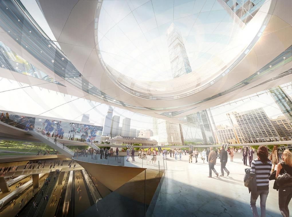 Wordlesstech New Penn Station Proposal By Som