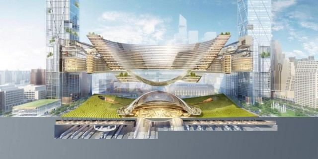 New Penn Station and the Next Madison Square Garden by SOM (2)