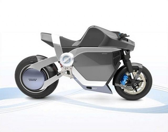 Nirvash Electric motorbike concept