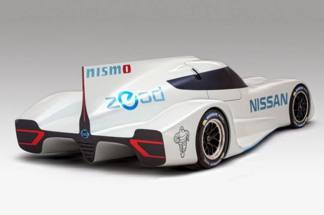 Nissan ZEOD RC world's fastest electric race car 1