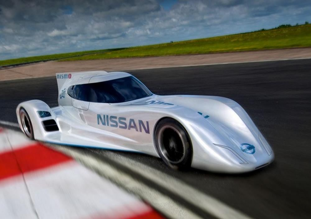 Nissan ZEOD RC worlds fastest electric race car  wordlessTech