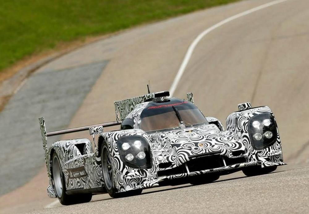 Porsche reveals LMP1 racecar for Le Mans