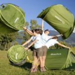 Tent by Quechua can be used in 2 Seconds