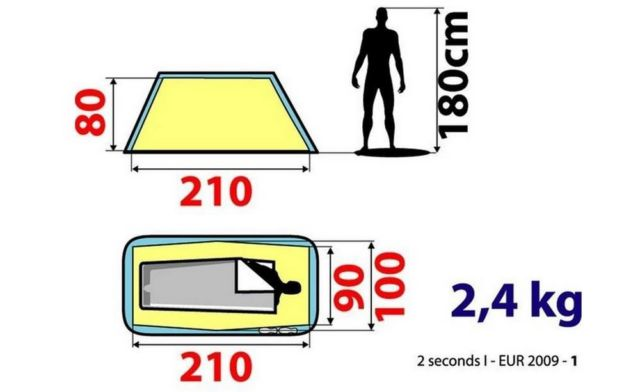 Tent by Quechua can be used in 2 Seconds (1)