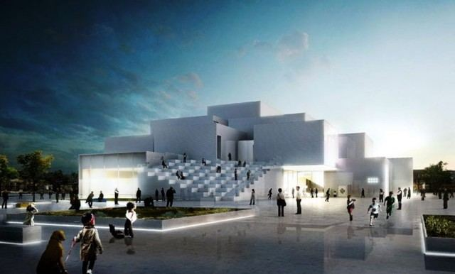 The LEGO House designed by BIG